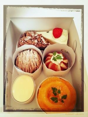 シェ・ピニョンのケーキ